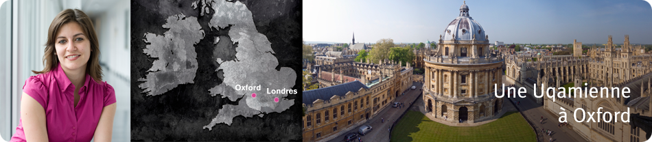 Une Uqamienne à Oxford