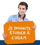 Je souhaite étudier à l'UQAM